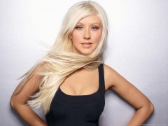 Christina Aguilera - Foto Fuente: Wallpapers-junction.com