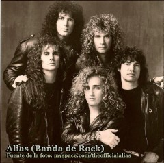 Alias - Banda Canadiense de Hard Rock